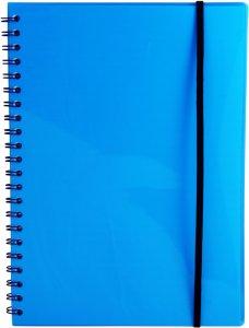 A4 notatbok med strikk