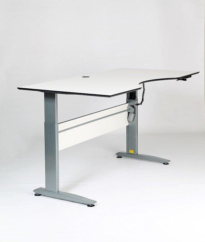 Designa Heve-senke skrivebord (180 cm)