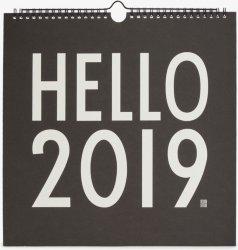 Design Letters Kalender 2019