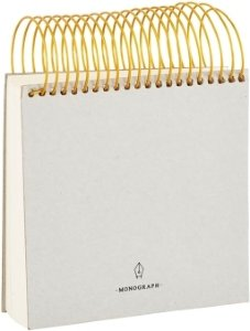Monograph Spiral skriveblokk (stor)