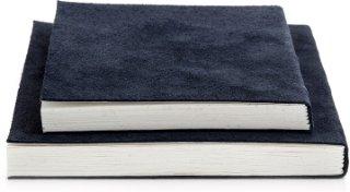 Suede notisbok (liten)