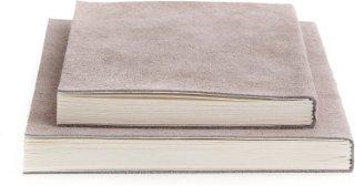 Suede notisbok (stor)