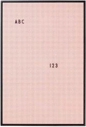 Design Letters oppslagstavle A2