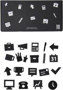 Design Letters Office Icons for oppslagstavle
