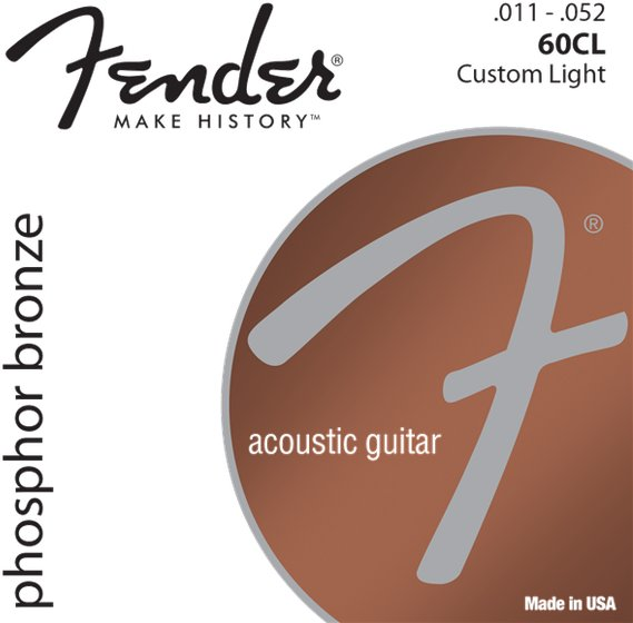 Fender Phosphor Bronze 60CL