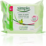 Simple Cleansing Facial Wipes 25stk
