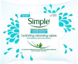 Simple Hydrating Cleansing Wipes 25stk