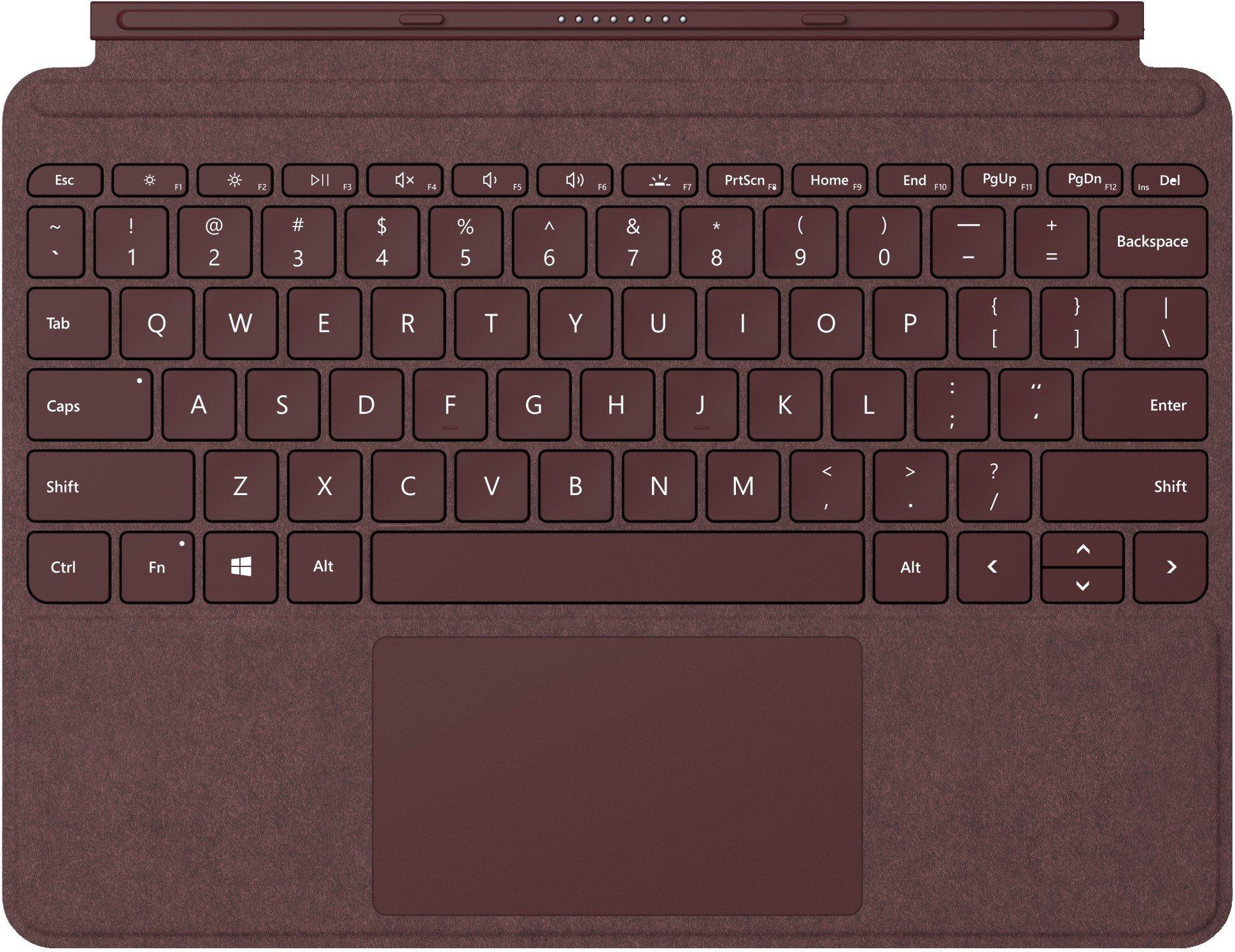 Surface Go Type Keyboard, Sort Tastatur og stylus