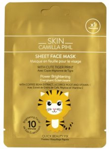 Skin Camilla Pihl Tiger Sheet Mask