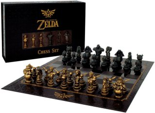 Legend of Zelda Chess Eksklusivt Sjakk Collectors Edition