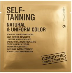 Comodynes Self-Tanning Wipes Natural 8stk