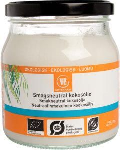 Urtekram Smagsneutral kokosolie 425 ml