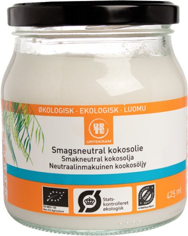 Urtekram Coconut Oil smaksnøytral 425 ml