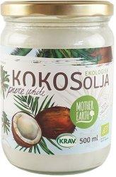 Mother Earth Ekologisk Kokosolja Pure White 500 ml