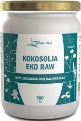 Alpha plus Kokosolja Eko RAW 500ml