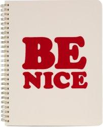 Ban.Do Be Nice Mini dagbok/notatbok