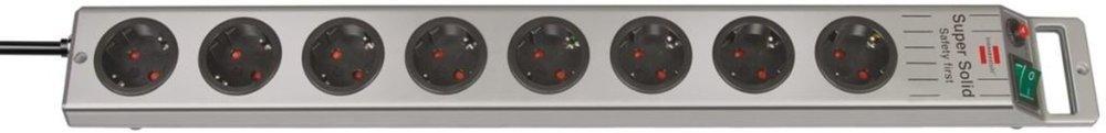Brennenstuhl SuperSolid Skjøteledning med 8 kontakter