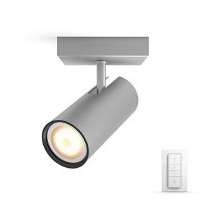 Philips Hue Buratto Single Aluminium Med Dimmer