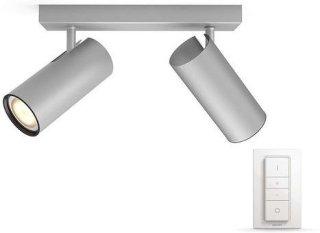 Philips Hue Buratto Dobbel Aluminium