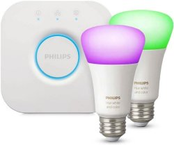 Philips Hue White and Color Ambiance Startpakke 2pk