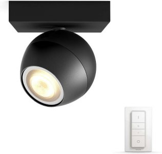 Philips Hue Buckram Sort med Dimmer