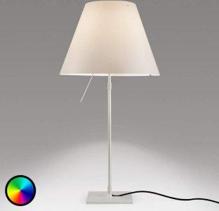 LucePlan Costanza Hue bordlampe