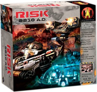 Risk 2210 AD Brettspill