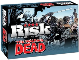 Risk The Walking Dead Edition Brettspill