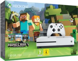Microsoft Xbox One S 500GB Minecraft