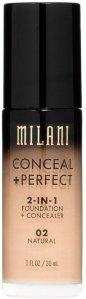 Milani Conceal + Perfect Liquid Foundation