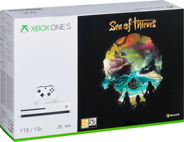 Microsoft Xbox One S 1TB Sea of Thieves