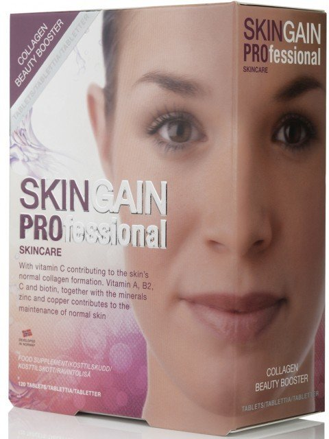 Skingain Professional Collagen Beauty Booster Tablets 120 stk
