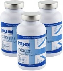 proto-col collagen body & joint formulation 90 stk 3pk