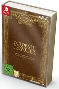 Octopath Traveler: Traveller`s Compendium Edition til Switch