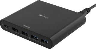 80W USB-C laptop charger and 4 x QC3.0 ports