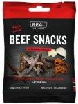 Real Turmat Beef Snacks Chili og Hvitløk