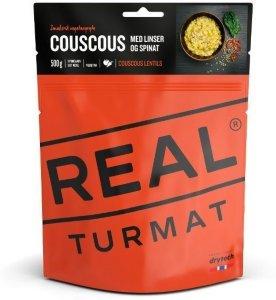 Couscous med linser og spinat