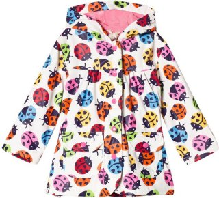 Hatley Rainbow Ladybirds regnjakke