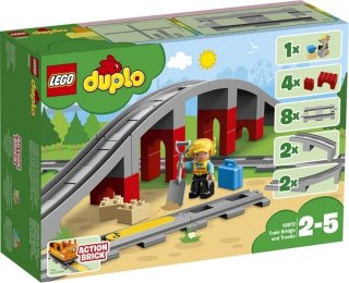 LEGO DUPLO Town 10872 Togbro og Spor