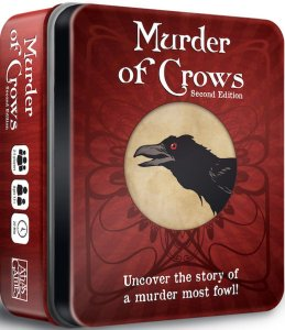 Murder of Crows Kortspill Second Edition