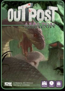 Outpost Amazon Kortspill
