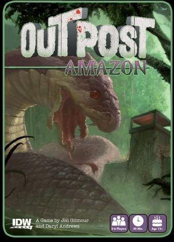 Outpost Amazon Kortspill