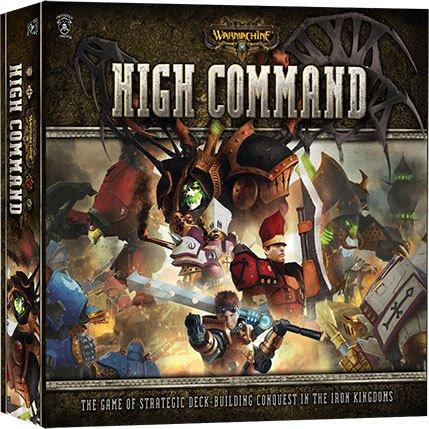 Warmachine High Command Kortspill