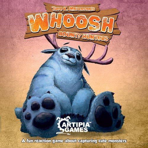 Whoosh Bounty Hunters Kortspill
