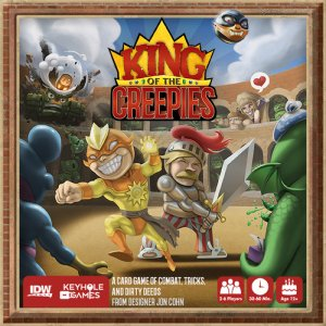 King of the Creepies Kortspill