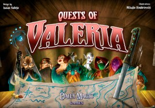 Quests of Valeria Kortspill