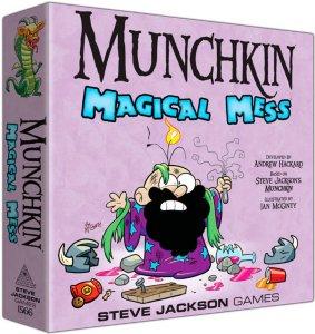 Munchkin Magical Mess Kortspill