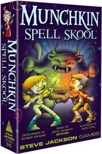Munchkin Spell Skool Kortspill