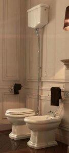 Lavabo Retro Toalett P-lås