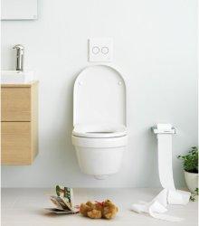 Gustavsberg veggskål hygienic flush m/softclose